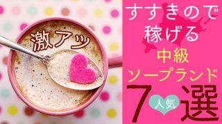 【激アツ】北海道すすきので稼げる中級ソープランド7選【人気】